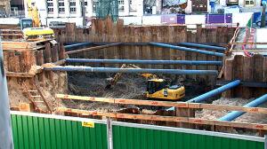 2-tonowy pocisk na budowie metra. Ewakuowano ok. 3 tys. osób