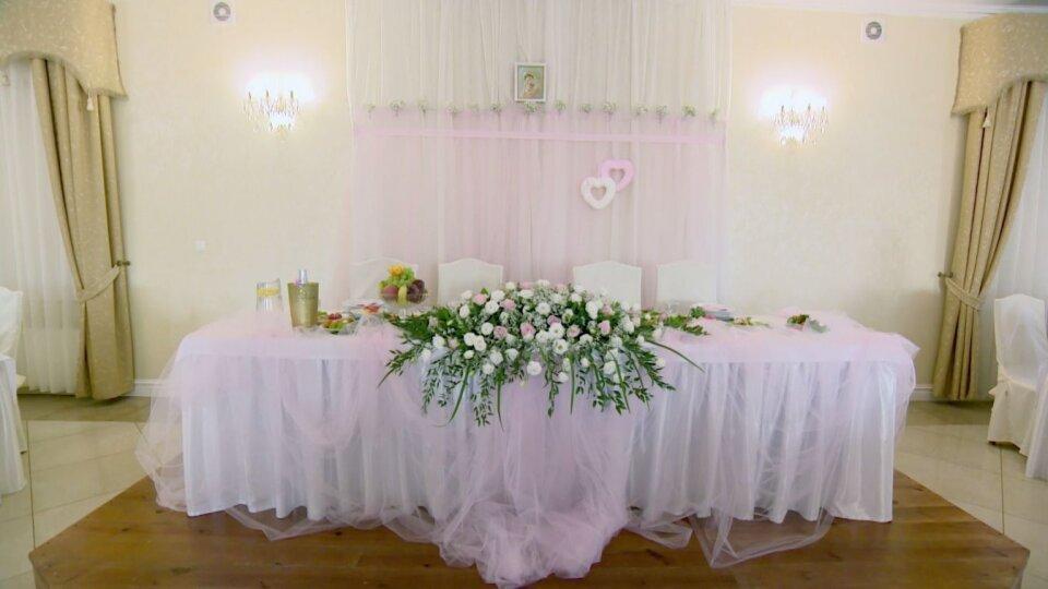 Zaawansowane Pudrowy róż jako kolor przewodni w sali weselnej KB62