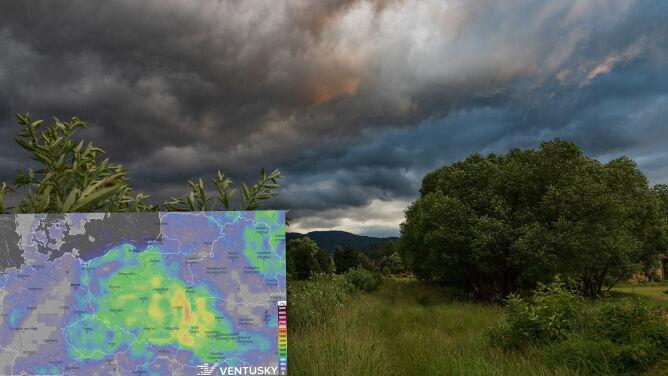 Pogoda na 5 dni: lipiec pokazuje swoje burzowe oblicze