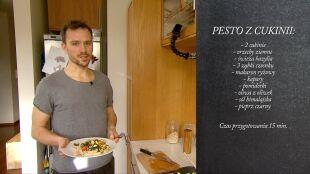 Pomysł na szybki obiad: wegańskie pesto z cukinii