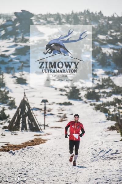 Pierwsza edycja Zimowego Ultramaratonu Karkonoskiego, fot.: Piotr Dymus