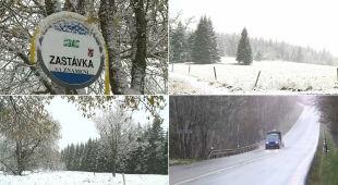 Zima zaskoczyła Czechów