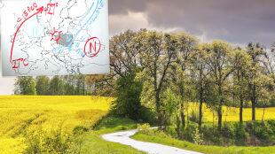 """Wasilewski rysuje pogodę. """"Mamy dwóch głównych graczy na mapie Europy"""""""