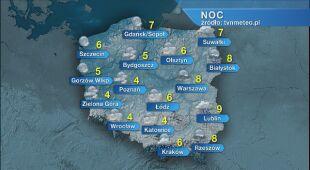 Prognoza pogody na noc 29/30.05