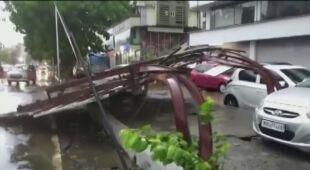 Zniszczenia w stanie Maharasztra
