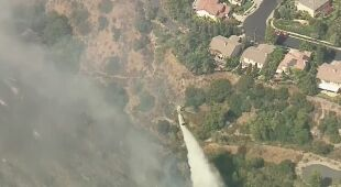 Pożar Ranch w okolicach Los Angeles